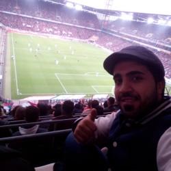 Mahmoud Osso aus Ehrenfeld beim Spiel des 1.FC Köln